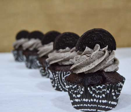 cupcakes oreo valencia