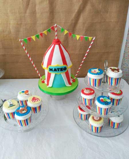 cupcakes circo valencia