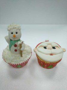 cupcakes navideños valencia