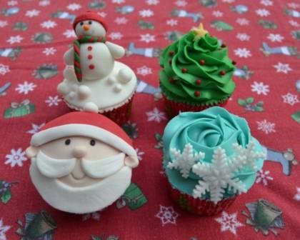 curso cupcakes navidad Valencia