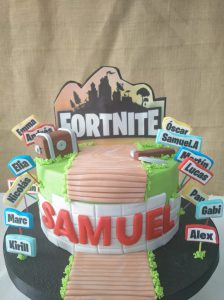 tarta fortnite valencia